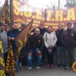 Movilización en reclamo de la restitución del subsidio intersafra